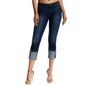 Joe's Jeans Cuffed Crop Skinny Jeans Size 24